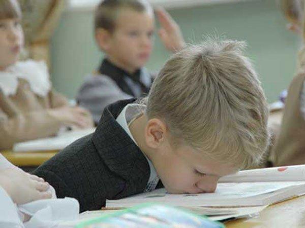 Ребенок сильно устает в школе что делать