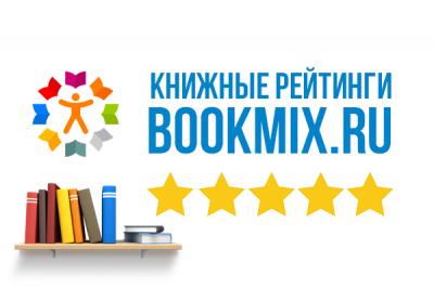 Книжный рейтинг мая 2020 от BookMix.ru