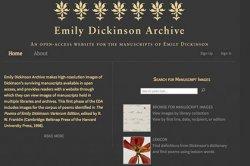 Архив Эмили Дикинсон выложили винтернет