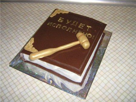 Торты с фото для декана