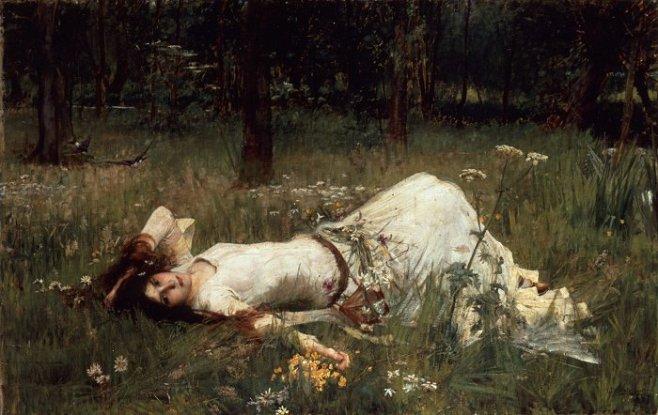 Офелия. 1889