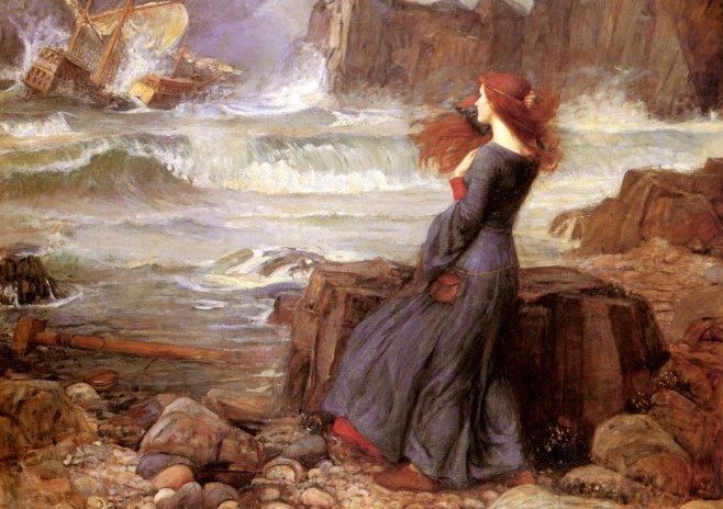 Миранда. Буря. 1916