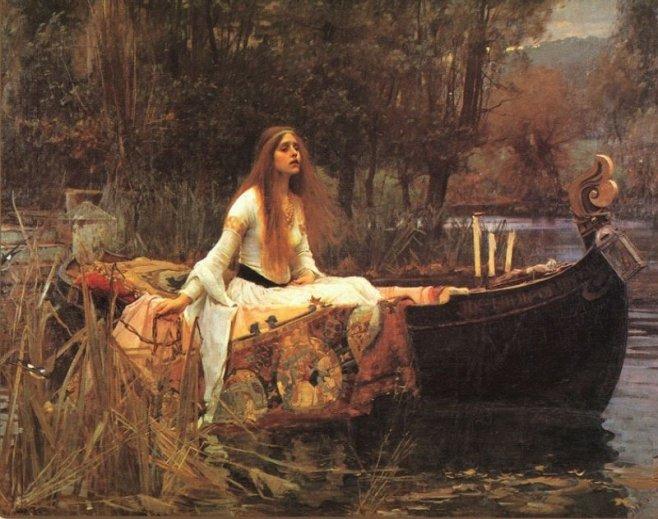 Леди из Шалотт. 1888