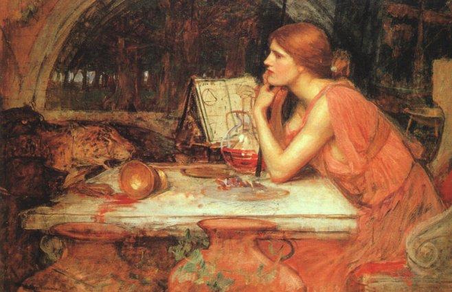 Волшебница.1911