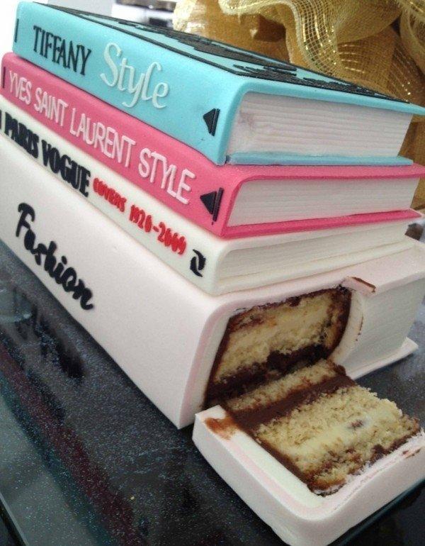 торты для книголюбов